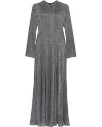 Georgia Alice - Dusk Pleated Lurex Dress - Lyst