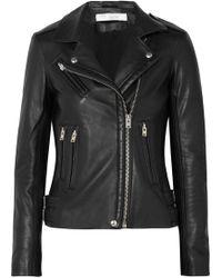 IRO - Han Leather Biker Jacket - Lyst