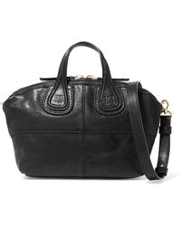 Givenchy - Micro Nightingale Textured-leather Shoulder Bag - Lyst