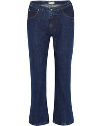 Paul & Joe - Cropped High-rise Flared Jeans - Lyst