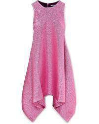 House of Holland | Draped Lurex Mini Dress | Lyst
