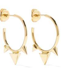 Isabel Marant - Gold-tone Hoop Earrings - Lyst