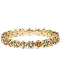 Melissa Joy Manning - 18-karat Gold Sapphire Ring - Lyst