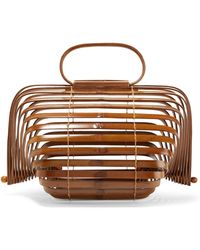 Cult Gaia - Lilleth Small Collapsible Bamboo Tote - Lyst