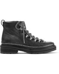 Rag & Bone - Compass Ii Studded Leather Ankle Boots - Lyst