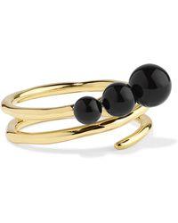 Ippolita - Nova 18-karat Gold Onyx Ring - Lyst