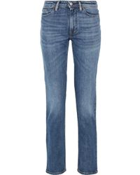 Acne Studios - South Mid-rise Straight-leg Jeans - Lyst