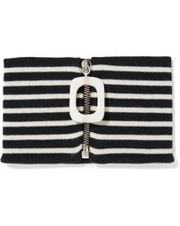 J.W.Anderson - Striped Merino Wool Collar - Lyst