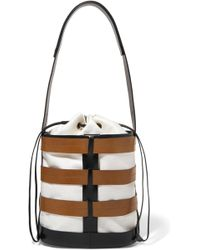 Trademark - Hesse Canvas And Leather Bucket Bag - Lyst