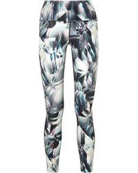 Nike - Ice Flash Power Legend Printed Dri-fit Stretch Leggings - Lyst