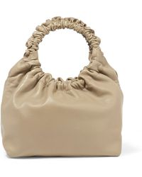 The Row - Double Circle Small Leather Tote - Lyst