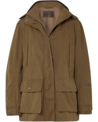 James Purdey & Sons - Woodcock Shell Hooded Coat - Lyst