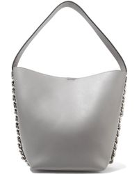 a4fe73af2d Givenchy Infinity Medium Leather Chain Hobo Bag in Brown - Lyst
