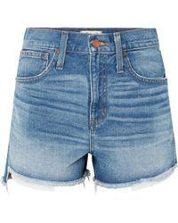 Madewell - The Perfect Denim Shorts - Lyst