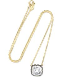 Fred Leighton - Collection 18-karat Gold, Silver And Topaz Necklace Gold One Size - Lyst