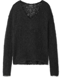 Rag & Bone - Freda Open-knit Alpaca-blend Jumper - Lyst