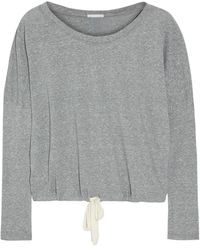 Eberjey - Heather Jersey Pajama Top - Lyst