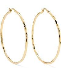 Maria Black - Francisca Gold-plated Hoop Earrings - Lyst
