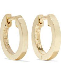 Jennifer Meyer - Huggy Small 18-karat Gold Hoop Earrings - Lyst