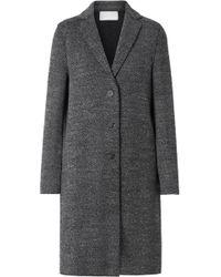 Harris Wharf London - Herringbone Wool-tweed Coat - Lyst