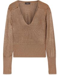 Theory - Knitted Jumper - Lyst