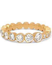 Sophie Bille Brahe - Croissant 18-karat Gold Diamond Ring - Lyst