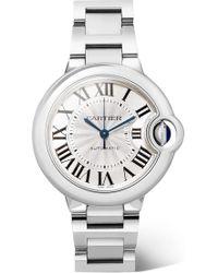 Cartier - Ballon Bleu De 33mm Stainless Steel Watch - Lyst