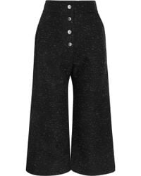 Sid Neigum - Donegal Cotton-blend Culottes - Lyst