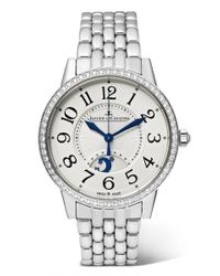 Jaeger-lecoultre - Rendez-vous Night & Day 34mm Stainless Steel And Diamond Watch - Lyst