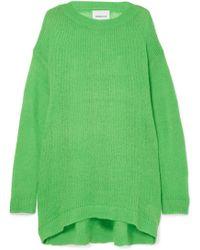 Georgia Alice - Slime Oversized Open-knit Sweater - Lyst