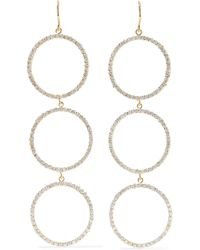 Jennifer Meyer - Open Circle 18-karat Gold Diamond Earrings - Lyst