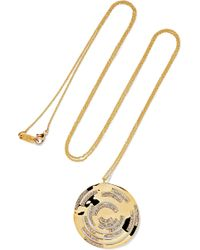 Ippolita - Senso 18-karat Gold Diamond Necklace - Lyst