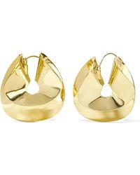 Ellery | Siouxsie Gold-plated Earrings | Lyst