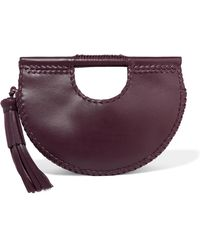 Ulla Johnson - Melora Whipstitched Leather Tote - Lyst
