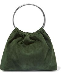 Little Liffner - Ring Small Suede Tote - Lyst