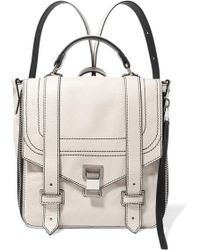 Proenza Schouler - Ps1+ Textured-leather Backpack - Lyst