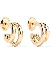 Pomellato - 18-karat Rose Gold Hoop Earrings Rose Gold One Size - Lyst