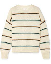 Étoile Isabel Marant - Gatlin Striped Alpaca-blend Sweater - Lyst