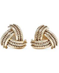 Etro - Gold-tone Clip Earrings - Lyst