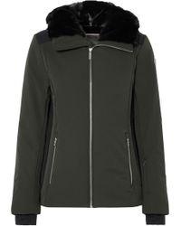 Fusalp - Carole Ii Hooded Faux Shearling-trimmed Ski Jacket - Lyst