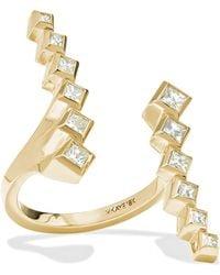 Melissa Kaye - Margo 18-karat Gold Diamond Ring - Lyst