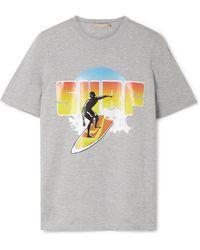 Michael Kors - T-shirt En Jersey De Coton Imprimé Surf - Lyst