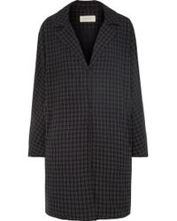 The Great - Tour Checked Twill Coat - Lyst