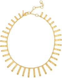 Lele Sadoughi - Arcade Gold-plated Necklace - Lyst
