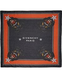 Givenchy | Square Scarf 120cm X 120cm Rottweiler | Lyst