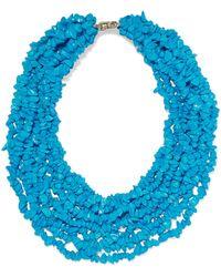 Rosantica - Fato Stone Necklace - Lyst