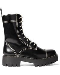 AlexaChung | Leather Ankle Boots | Lyst