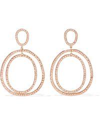 Ileana Makri - Again Double 18-karat Rose Gold Diamond Earrings - Lyst