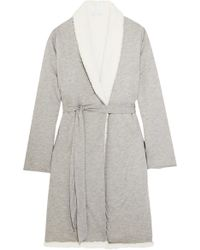 Eberjey - Alpine Fleece-lined Modal Robe - Lyst