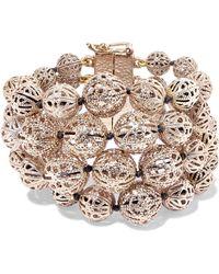 Rosantica - Innocenza Gold-tone Bracelet Gold One Size - Lyst